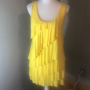 Dresses & Skirts - Fun and Funky Calvin Klein Dress! Yellow is in!